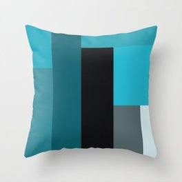 brink by brink sea Throw Pillow