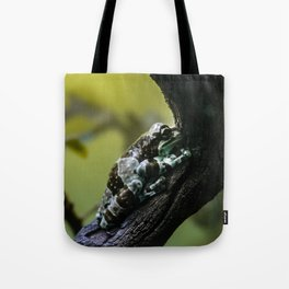 Frog Far From Home Tote Bag