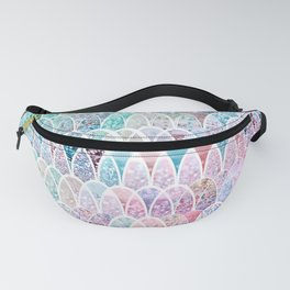 DAZZLING MERMAID SCALES Fanny Pack
