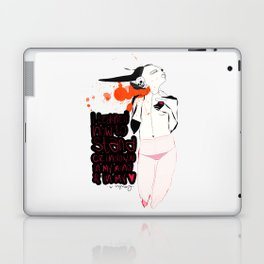 Stand - Emilie Record Laptop & iPad Skin