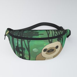 Flock of Gerrys Zososlow Sloth in the Forest Fanny Pack