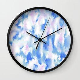 Love Spell Cerulean Lavender Wall Clock