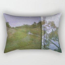 River runs through it Rectangular Pillow