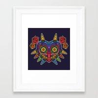 majora Framed Art Prints featuring El Dia de la Majora by Marco Mottura - Mdk7