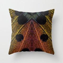 Butterflies Love Geometry Throw Pillow