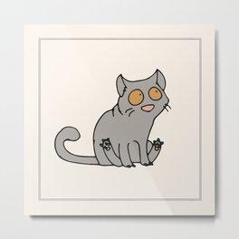 Brittish Shorthair Cat Metal Print