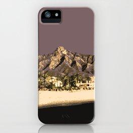 Marbella Mocha iPhone Case
