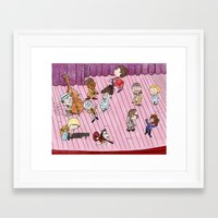 tenenbaums Framed Art Prints featuring O Tenenbaums! by JessLane