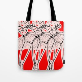 Red Revolution Tote Bag