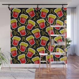 Fries before guys / Black Wall Mural