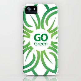 Go Green iPhone Case