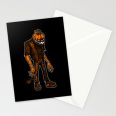 Autumn People 4 Stationery Cards