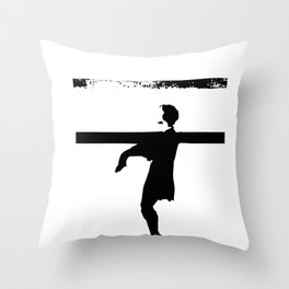 hoctor by steichen  Throw Pillow