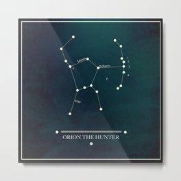 ORION  THE HUNTER Metal Print