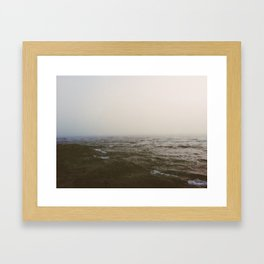 Moody Sea Framed Art Print