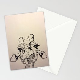 Derpy Giraffe Stationery Cards