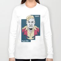 pagan Long Sleeve T-shirts featuring Pagan Min by King Arnanda
