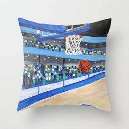 Nothing But Air Throw Pillow