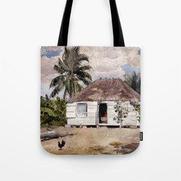 Winslow Homer Native Huts, Nassau Tote Bag