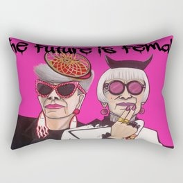 Fashionistas in NYC Rectangular Pillow