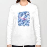 chihiro Long Sleeve T-shirts featuring Chihiro in Spiritland by Hoborobo