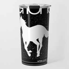 Deftone White Pony Travel Mug