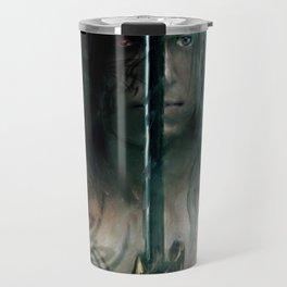 warrior inside Travel Mug