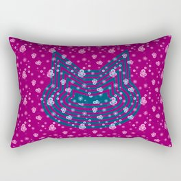 Omni Cat I Rectangular Pillow