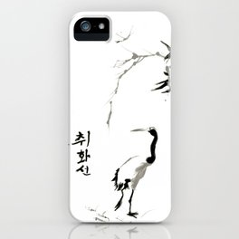 Painted Fire by John Choi 취화선 iPhone Case