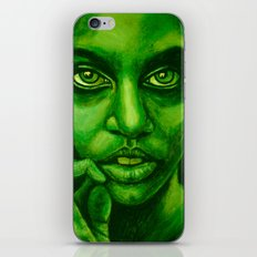 don't panic! green iPhone & iPod Skin