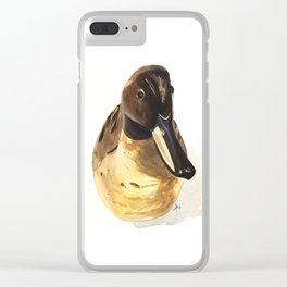 Decoy #4 Clear iPhone Case