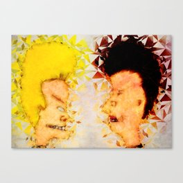 Bevis and Butthead Canvas Print