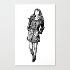 Fabulous Hair Canvas Print