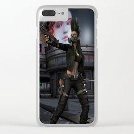 Street Samurai Clear iPhone Case
