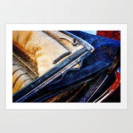Vintage Car - Velvet Luxury Art Print