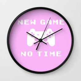 Funny Gamer Geek Controler New Game Nerdy Gift Wall Clock
