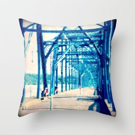Bridge Between Us Throw Pillow