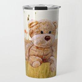 Cuddly In The Garden Travel Mug