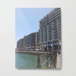 Seaside Sydney Metal Print