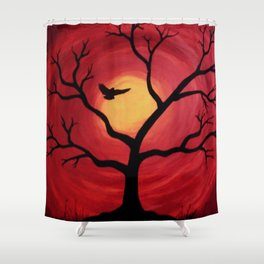 Favorite Landing Spot Shower Curtain