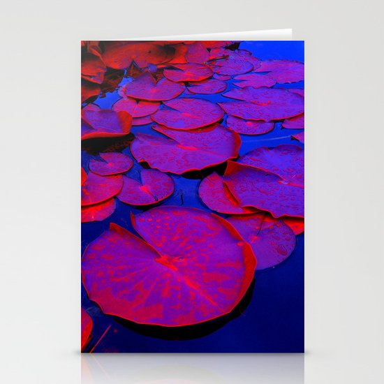 lily pads I Stationery Cards