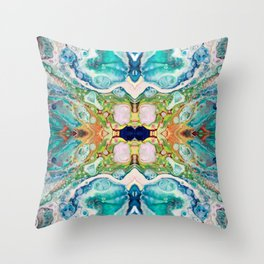 Fragmented 82 Throw Pillow