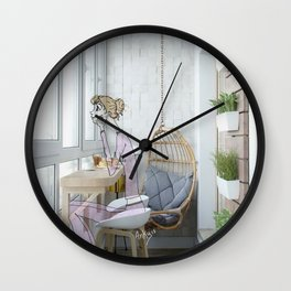 pijamas Wall Clock