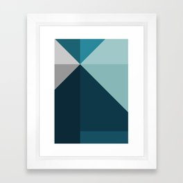Geometric 1702 Framed Art Print