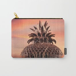 Pineapple Fountain Pink Carry-All Pouch