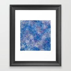 Frozen Leaves 11 Framed Art Print