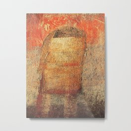 Sad Man Metal Print