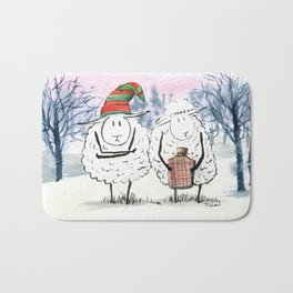 Keep Warm Bath Mat