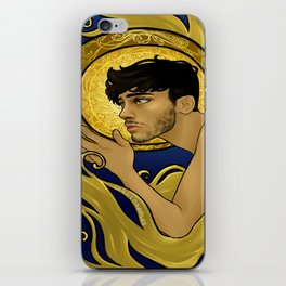 Art Nouveau Zayn iPhone Skin