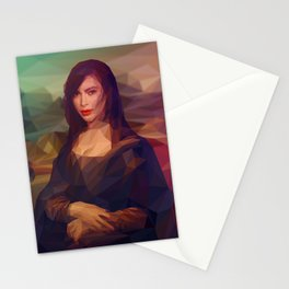 La Gioconda / Kim Kardashian / Mona Lisa Stationery Cards
